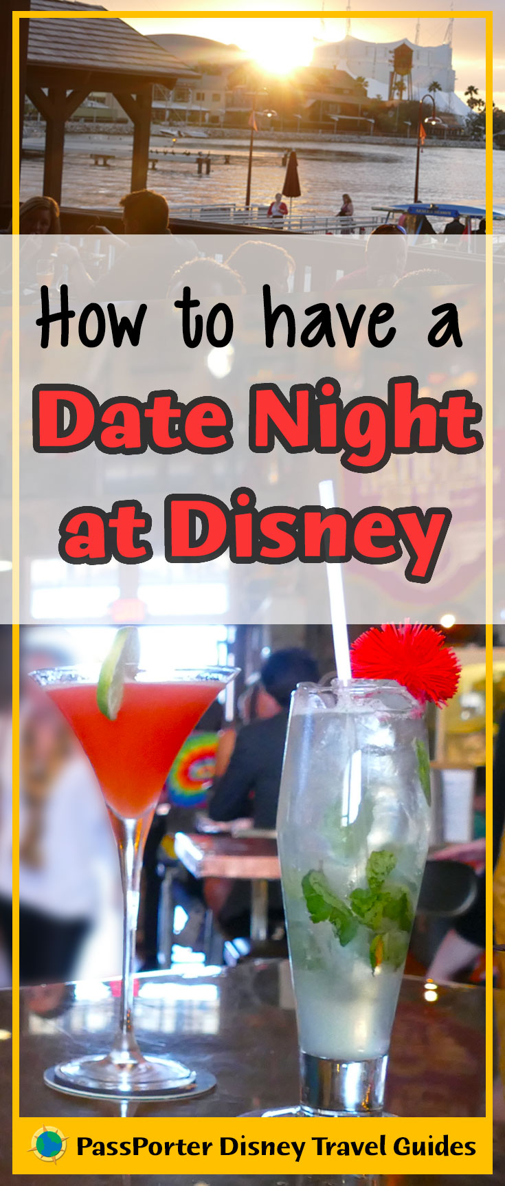 How to have the BEST date night at Disney World! Includes childcare tips and ideas on what to do on your date night. | Walt Disney World | PassPorter.com