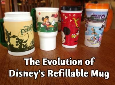 Evolution Of The Disney Refillable Mug Passporter Photos