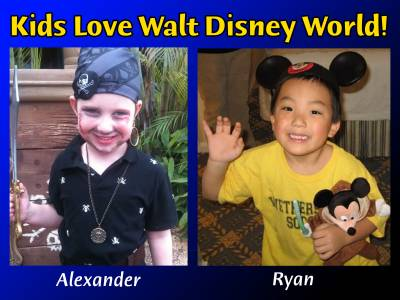 Photo illustrating Kids Love Walt Disney World!