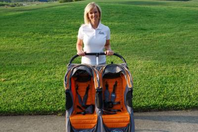 Photo illustrating Shannon from Orlando Stroller Rentals
