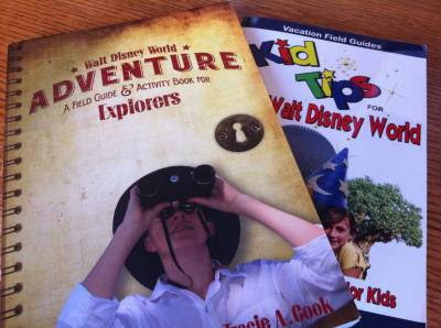 Photo illustrating Vacation Field Guides for Walt Disney World