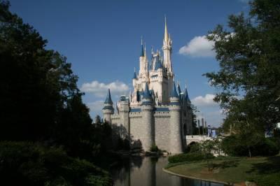 Photo illustrating <font size=1>Magic Kingdom - Cinderella Castle