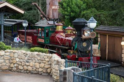 Photo illustrating <font size=1>Magic Kingdom - Walt Disney Railroad