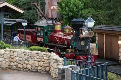 Photo illustrating Magic Kingdom - Walt Disney Railroad