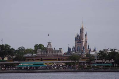 Photo illustrating Magic Kingdom - Arriving on the Ferry