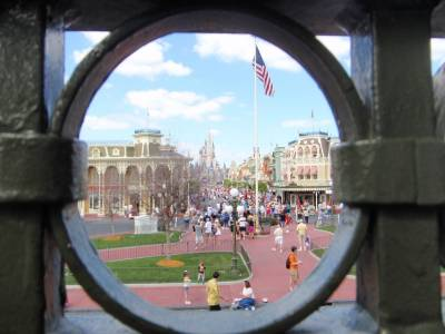 Magic Kingdom - A Different View of Cinderella Castle