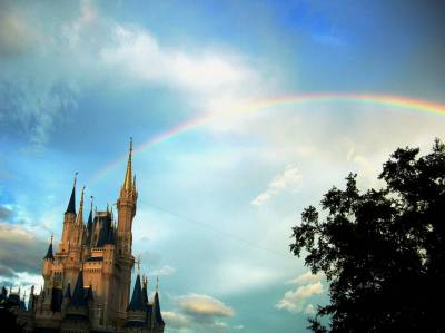 Photo illustrating Rainbow over the Kingdom