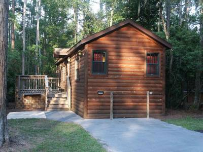 fort wilderness cabin view from front passporter photos