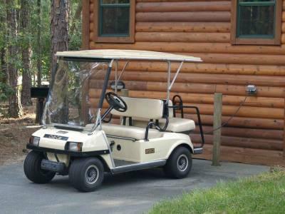 Fort Wilderness Golf Cart Passporter Photos
