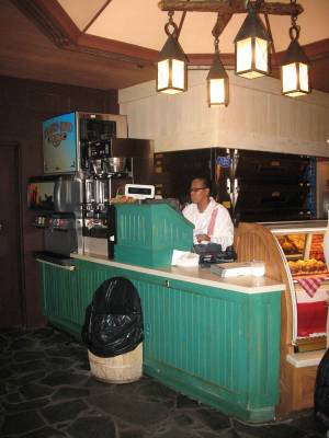 Photo illustrating <font size=1>Fort Wilderness - Trails End Restaurant Cashier