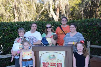 The Hoop Dee Doo Revue at Disney's Fort Wilderness Campground