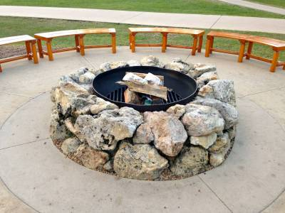 Photo illustrating Firepit at Chip