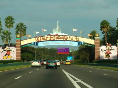 Walt Disney World - signs