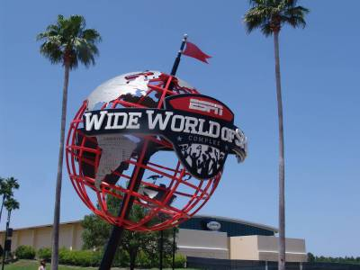 Photo illustrating <font size=1>ESPN Wide World of Sports