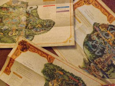 Photo illustrating Disney World Custom Park Maps