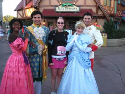 Photo illustrating Disney Princess Half Marathon 2010