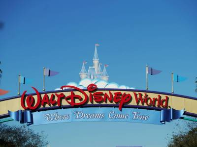 Walt Disney World - entrance sign