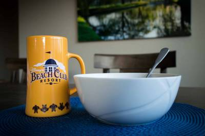 Beach Club Souvenir Mug at Home