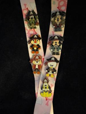 Pin Trading Lanyard