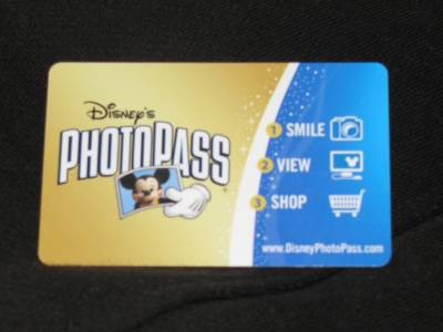 Disney's PhotoPass Card photo