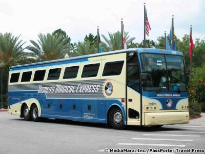 Photo illustrating Caribbean Beach - Magical Express Bus