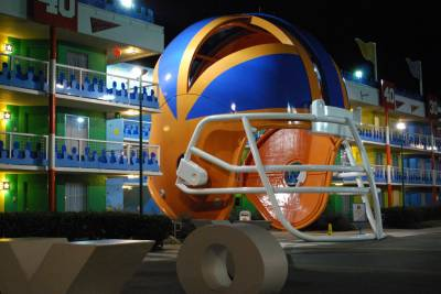 All Star Sports Resort Touchdown Building #10 photo
