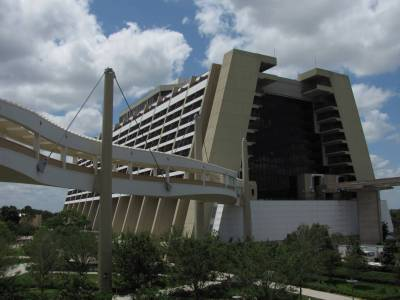 Photo illustrating Contemporary view from Bay Lake Tower