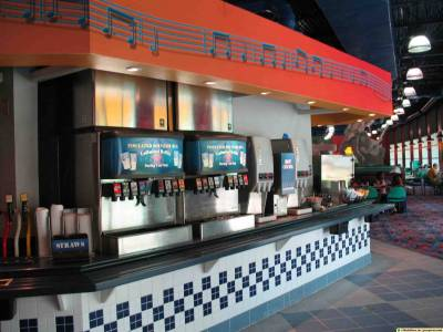 Photo illustrating <font size=1>All-Star Music - Food Court
