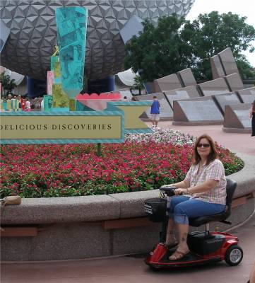 Enjoying Epcot