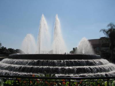 Epcot Fountains photo