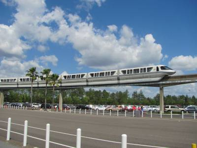 Photo illustrating Monorail Silver