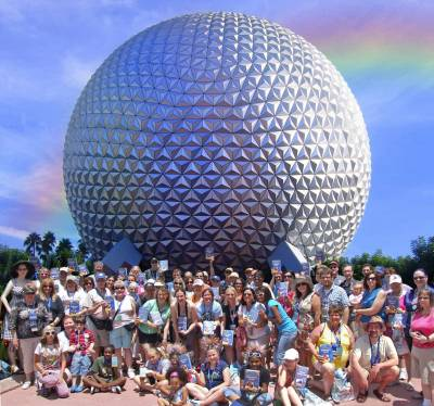Epcot - PassPorter Readers at Spaceship Earth