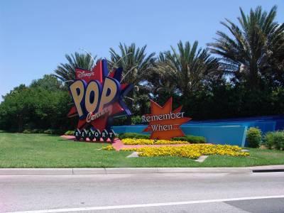 Photo illustrating <font size=1>Pop Century - entrance