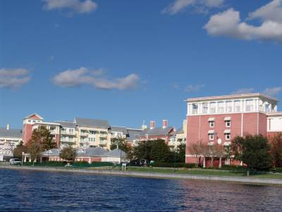 BoardWalk Villas - from Studios lake