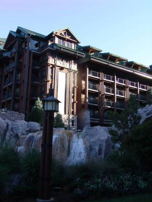 Wilderness Lodge - exterior