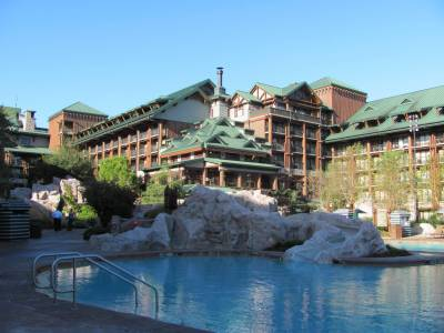 Photo illustrating <font size=1>Wilderness Lodge Pool