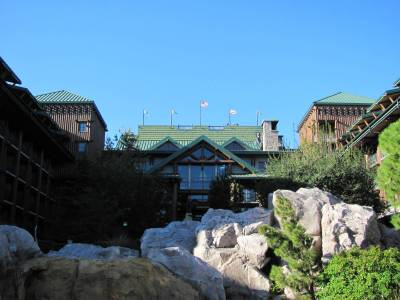 Photo illustrating Wilderness Lodge Courtyard
