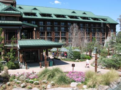 Wilderness Lodge Exterior Guest Rooms photo
