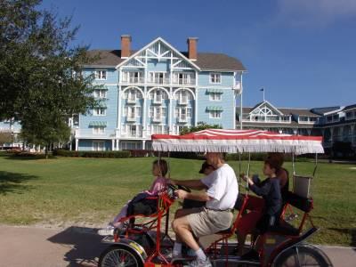 Photo illustrating Beach Club - and surrey bike