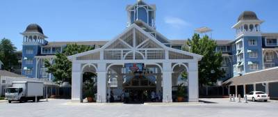 Photo illustrating Beach Club - Front Entrance