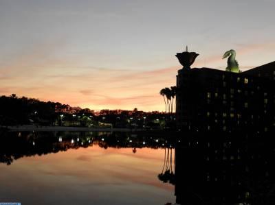 Photo illustrating Sunset
