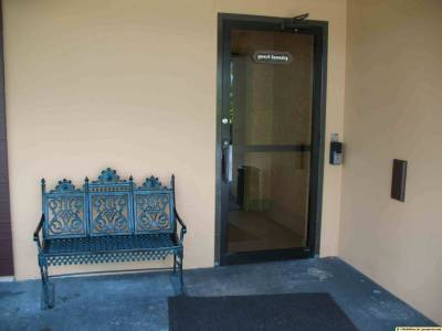 Photo illustrating <font size=1>Polynesian - Door to Guest Laundry