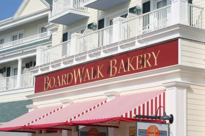 Photo illustrating <font size=1>Boardwalk Bakery