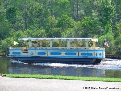 Port Orleans Transportation Boat On River Passporter