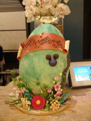 Contemporary - Easter decorations in the lobby