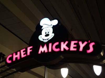Photo illustrating <font size=1>Contemporary - Chef Mickey