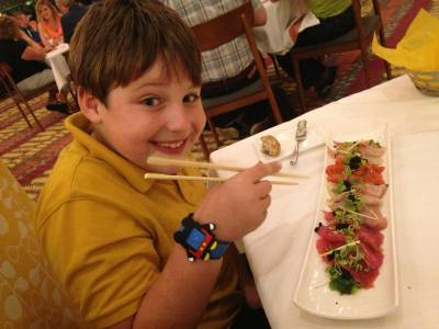 Photo illustrating My Little Disney Foodie - California Grill
