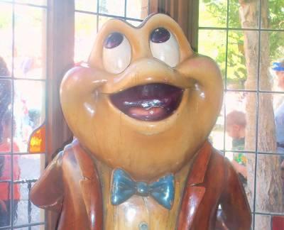 Photo illustrating Disneyland Fantasyland Mr. Toad