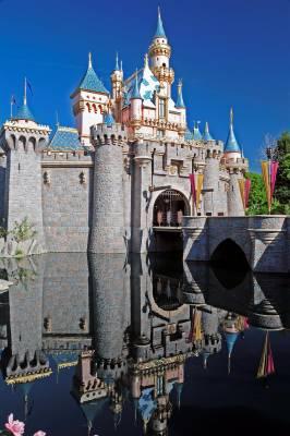 Photo illustrating <font size=1>Disneyland