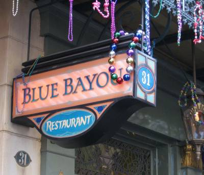Photo illustrating <font size=1>Disneyland - Blue Bayou Restaurant in New Orleans Square